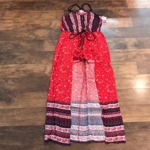 NWT Xhilerarion Shorts/Dress Romper - Small